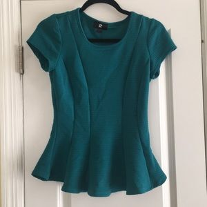 Turquoise Dress Top